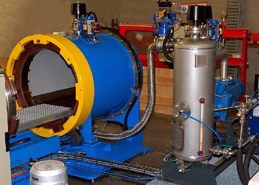 R&D blast chamber