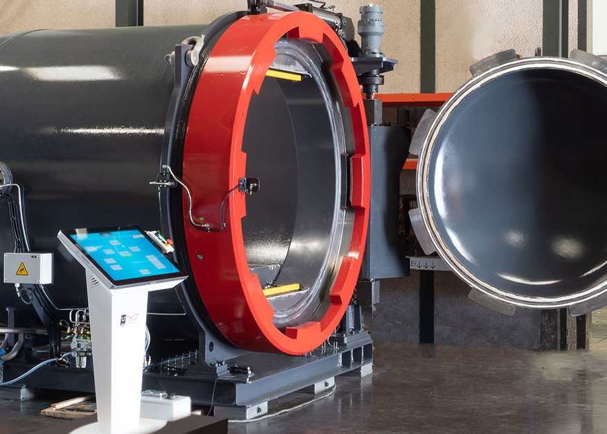 routine testing detonation chamber / R&D / Industrial process
