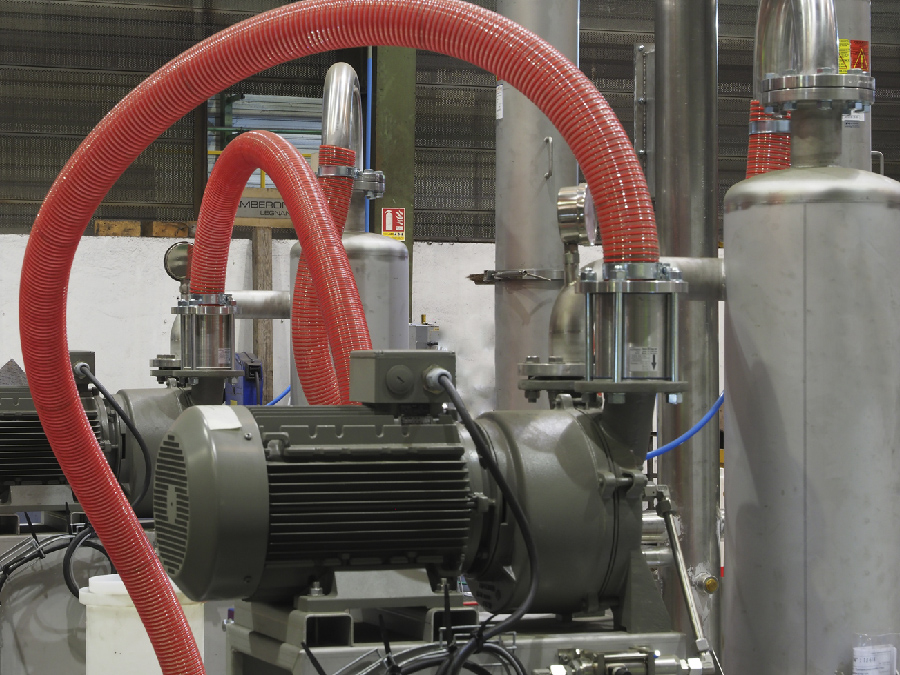 filtering system for detonation chamber